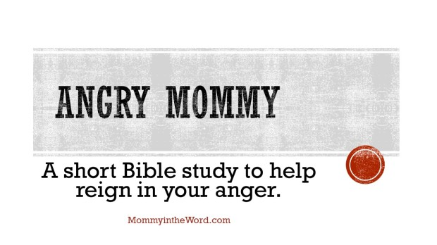Angry Mommy Bible Study