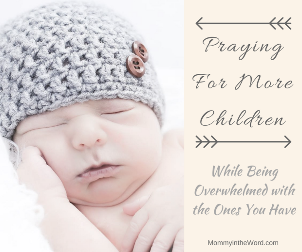 Praying For More Children While Being Overwhelmed